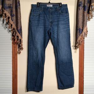 Levi's 505 Straight Fit 36x32 Men's Jeans
